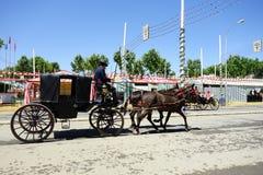 The April fair of Seville Stock Photo