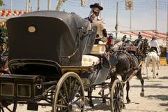 April fair in Spain Stock Image