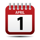 April first Royalty Free Stock Photography