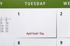 April Fool's Day Stock Photo