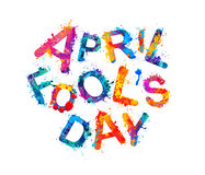 April fool`s day. April 1st holiday Stock Photos