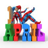 April Fool's Day Clipart Royalty Free Stock Photography