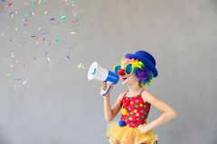1 April Fool`s Day Concept royalty free stock image