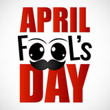 April Fool's Day. Creative  abstract for April Fool's Day Stock Photos