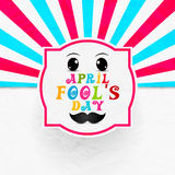 April Fool's Day. Creative  abstract for April Fool's Day Royalty Free Stock Photography