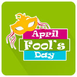April Fool's Day. Creative  abstract for April Fool's Day Royalty Free Stock Image