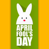 April Fool's Day. Creative  abstract for April Fool's Day Royalty Free Stock Images