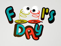 April Fool's Day. Creative  abstract for April Fool's Day with creative design and colour combinations Royalty Free Stock Photography