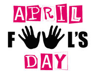 April fool's day sign Royalty Free Stock Photography