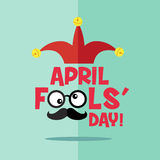 April fool's day, Typography, Colorful Royalty Free Stock Image