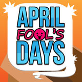 April Fool's Days Vector Art Royalty Free Stock Images