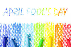 April Fool-` s Tag Lizenzfreies Stockbild