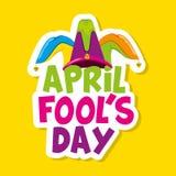 April Fools Day Card stockbild