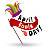 April Fools Day Cartoon Illustration Royalty Illustrazione gratis