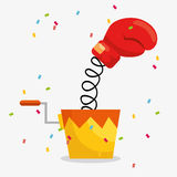 April fools day celebration card Royalty Free Stock Photography
