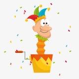 April fools day celebration card. Vector illustration design Stock Photos