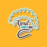 April Fools Day Clown illustrazione di stock