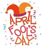 April fools day design, vector illustration. April fools day design,holiday vector illustration Stock Illustration