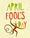April Fools Day illustration Stock Image