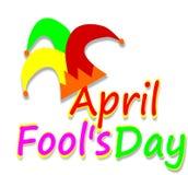 April Fools day, Illustration Royalty Free Stock Photo