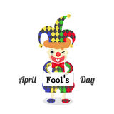 April fools day with a joker Stock Photo