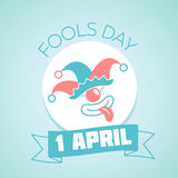 1 April Fools Day linear Stock Images