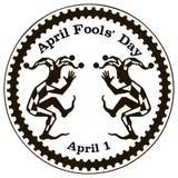 April Fools Day o todo el día de los tontos Imágenes de archivo libres de regalías