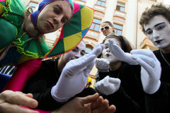 April Fools' Day in Odessa, Ukraine. Royalty Free Stock Photos