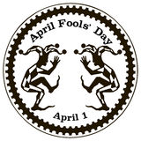 April Fools Day ou tout le jour d'imbéciles Images libres de droits