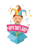 April fools day Stock Photos