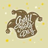 April 1 Fools Day Stock Photo