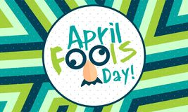 April Fools Day - Vector vector illustration