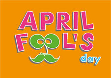 April Fools Day. Vector illustration Stock Photography