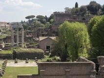 21 april 2018, Forum Romanum, Fori romani, ancient site of antiq. Ue city of Rome, in Rome near Palatino hill Stock Photography