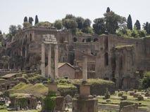 24 april 2018, Forum Romanum, Fori romani, ancient site of antiq. Ue city of Rome, in Rome near Palatino hill Stock Photos