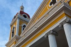 Architectural details in Granada Nicaragua Stock Images