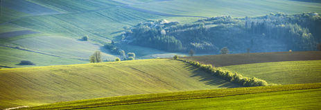 April on the hills of Slovakia Royalty Free Stock Photography