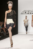 April Johnston Project Runway season 8 Stock Images