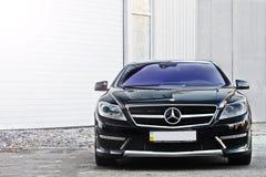 12 april, 2016; Kiev, de Oekraïne; Mercedes-Benz-cl 65 AMG V12 bi-Turbo royalty-vrije stock afbeelding
