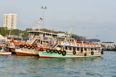 26. April 2016 Koh Larn-Touristenorte in der Stadt Gefunden auf t Lizenzfreie Stockbilder