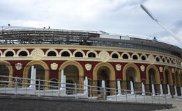 Stadium For The European Games royalty free stock photography