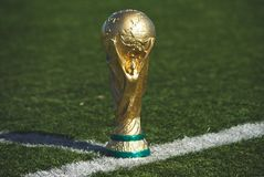 FIFA World Cup trophy royalty free stock photography