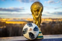 Trophy of the FIFA World Cup stock photography
