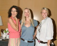 April O'Brien,Lisa Edelstein,Jennifer Gareis Royalty Free Stock Images