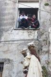 24 april 2017 , PAGANI SA ITALY, Madonna delle galline procession Stock Images