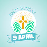 9 April palm Sunday Stock Photography