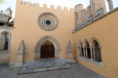 April 3rd, 2017, Coimbra, Portugal - Portugal DOS Pequenitos parkerar Royaltyfria Foton