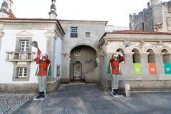 April 3rd, 2017, Coimbra, Portugal - Portugal DOS Pequenitos parkerar Royaltyfri Foto