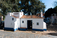 April 3rd, 2017, Coimbra, Portugal - Portugal DOS Pequenitos parkerar Fotografering för Bildbyråer