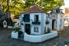 April 3rd, 2017, Coimbra, Portugal - Portugal DOS Pequenitos parkerar Royaltyfri Fotografi